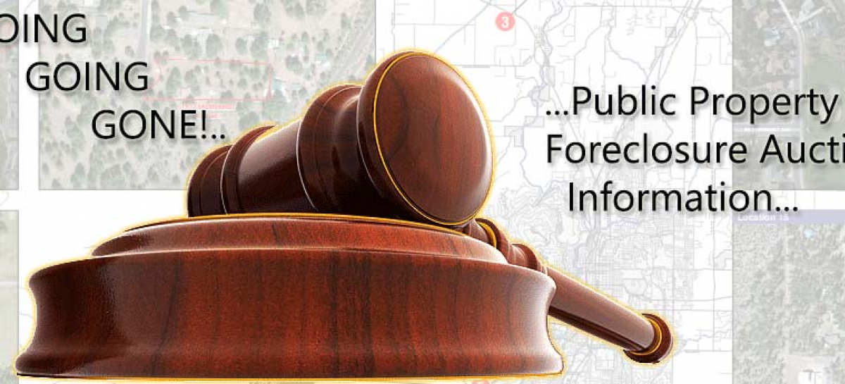 Deschutes County Property Foreclosure Auction Information